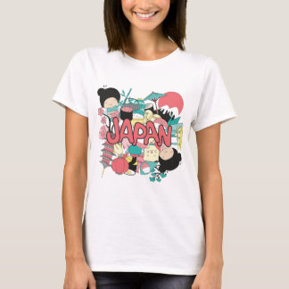 Wellcoda Japan Culture Asia Parade Life T-Shirt