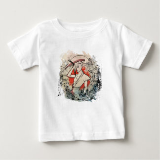 Wellcoda Japan Samurai Sword Fight Attack Tshirt