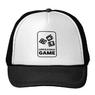 Wellcoda Life Is A Dice Game Casino Fun Cap