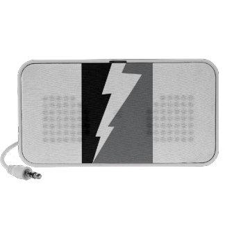 Wellcoda Lightning Shock Strike Grey Black iPod Speaker