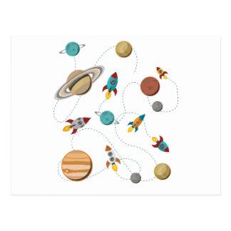 Wellcoda Meet You In Galaxy Mad Planet Postcard