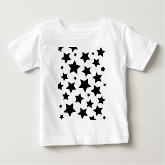 Wellcoda Multiple Star Effect Night Sky Baby T-Shirt