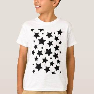 Wellcoda Multiple Star Effect Night Sky T-Shirt