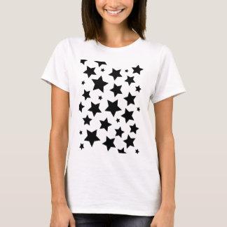 Wellcoda Multiple Star Effect Night Sky T-Shirt