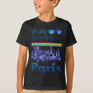 Wellcoda Paris For Everyone Love City T-Shirt