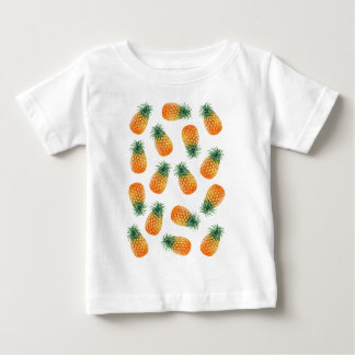Wellcoda Pineapple Fruit Bowl Summer Fun Baby T-Shirt