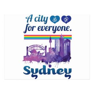 Wellcoda Sidney City Friendly Peaceful Postcard