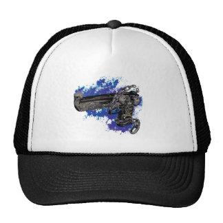 Wellcoda Skeleton Revolver Pistol Chain Cap