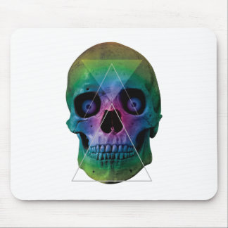 Wellcoda Skull Head Eyeball Bone Face Mouse Pad