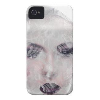 Wellcoda Smoke Make Up Pretty Girl Face iPhone 4 Cases
