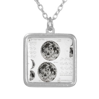 Wellcoda Solar System Planet Astro Physics Silver Plated Necklace