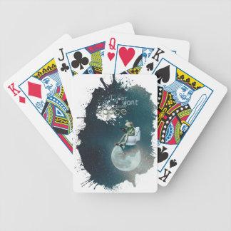 Wellcoda Space Universe Frog Earth Animal Poker Deck