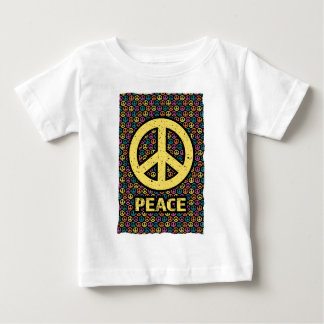 Wellcoda Spread Peace Not War Harmony Fun Baby T-Shirt