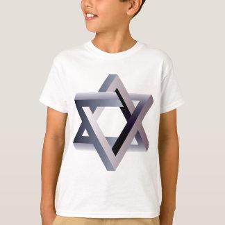 Wellcoda Star Of David Symbol Judaism Sign T-Shirt