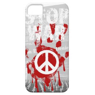 Wellcoda Stop War World Peace Soldier RAF iPhone 5 Cases