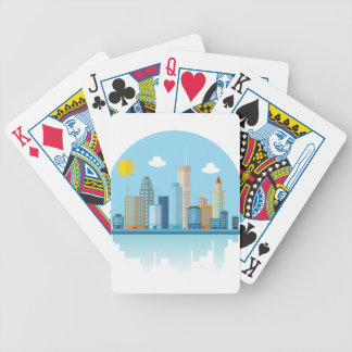 Wellcoda Sun City View Town Sydney Coast Bicycle Poker Cards