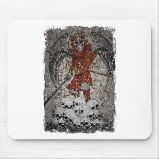 Wellcoda Tomb Stone Scary King Evil Grave Mouse Pad