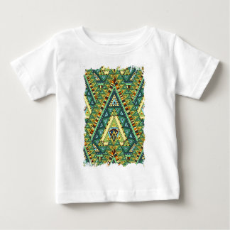 Wellcoda Tribal Style Pattern Crazy Vibe Baby T-Shirt