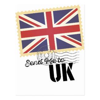 Wellcoda UK Britain Flag Life England Postcard