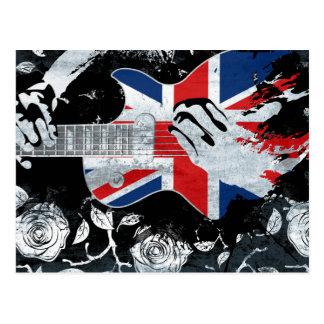 Wellcoda UK Music Guitar Life Postcard