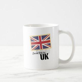 Wellcoda USA America Flag United States Basic White Mug