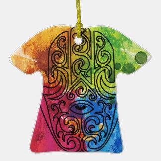Wellcoda Vibrant Indian Symbol Asian Life Ceramic T-Shirt Decoration