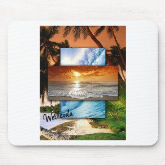 Wellcoda Vintage Beach Life Holiday Love Mouse Pad