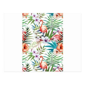 Wellcoda Wild Flamingo Life Paradise Bird Postcard
