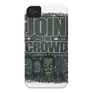 Wellcoda Zombie Monster Crowd Dead Scary iPhone 4 Case