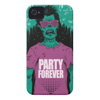 Wellcoda Zombie Monster Party Scary Dead iPhone 4 Covers