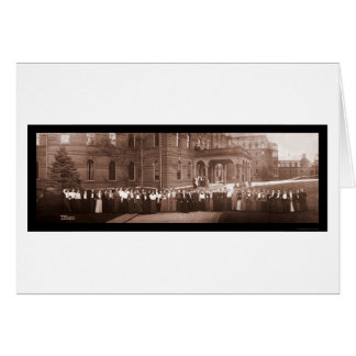 Wellesley College MA Photo 1903 Card