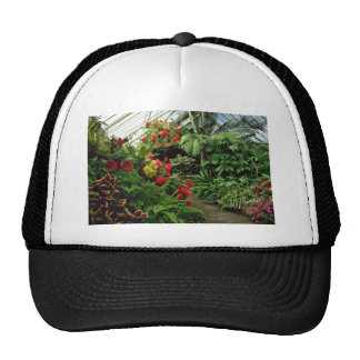 Wellington Botanical Gardens flowers Mesh Hats