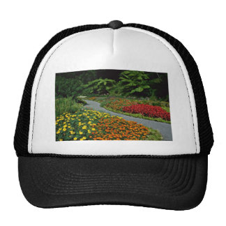 Wellington Botanical Gardens flowers Mesh Hat
