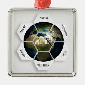 Wellness Dimensions Metal Ornament