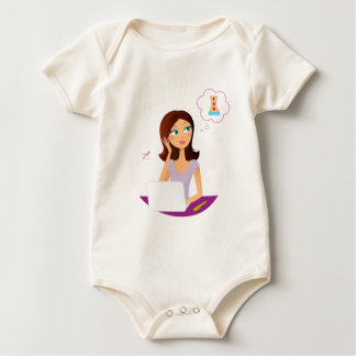 Wellness girl art illustration : T-shirts, Stuff Baby Bodysuit