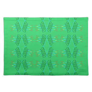 Wellness mandalas Green eco Placemat