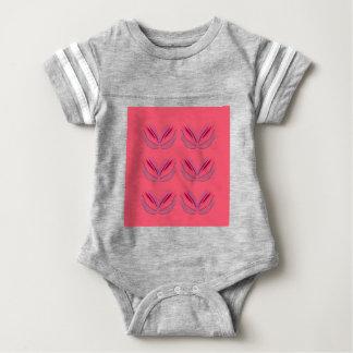 Wellness mandalas Pink Baby Bodysuit