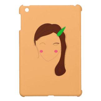 Wellness woman asia on gold iPad mini cover