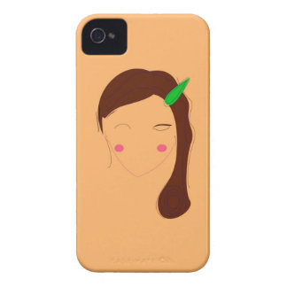 Wellness woman asia on gold iPhone 4 cover