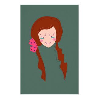 WELLNESS WOMAN Long hair Eco green Stationery