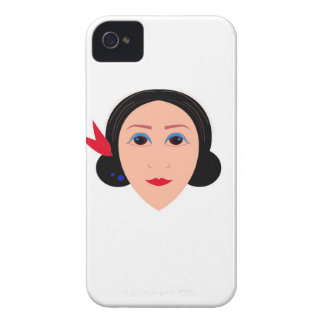 Wellness woman on white iPhone 4 case