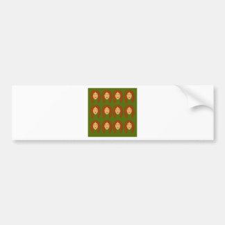 Wellness women / on olive bg bumper sticker