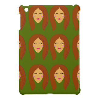 Wellness women / on olive bg iPad mini cases
