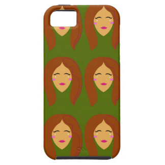 Wellness women / on olive bg tough iPhone 5 case