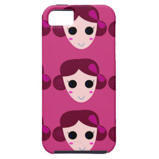 Wellness women pink case for the iPhone 5