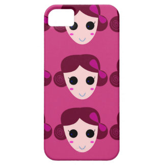 Wellness women pink iPhone 5 cover