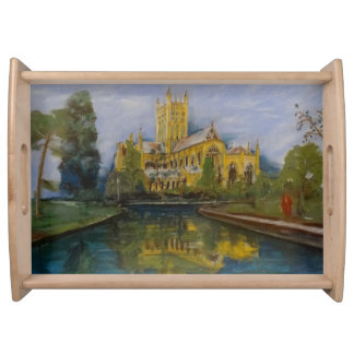 Wells Cathedral Breakfast Serving Tray