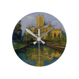 Wells Cathedral Morning Wall Clocks