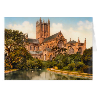 Wells Cathedral Somerset England Card