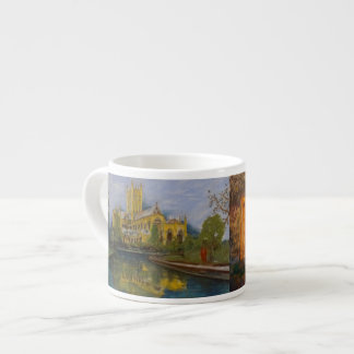 Wells Cathedral - Two Paintings Espresso Cup